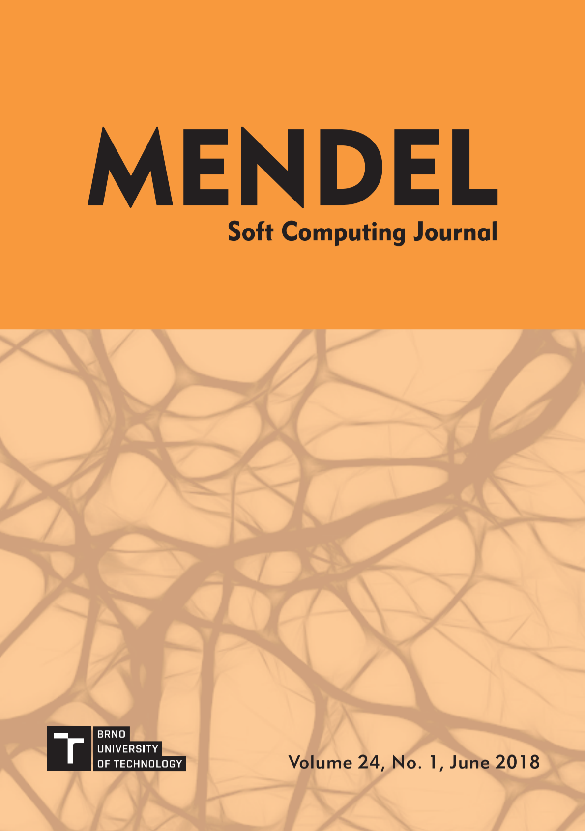 MENDEL Soft Computing Journal, Volume 24, No. 1, June 2018 - Cover
